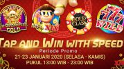 Koin Gratis Xin Gaming Tap And Win With Speed