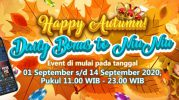 Promosi Happy Autumn Daily Bonus to NiuNiu