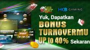 Bonus Turnover Card Games Up To 40%