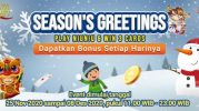 Season's Greetings Play NiuNiu & Win 3 Cards