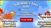 Promo Valentine's Love With Spinomenal