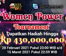 "Event Spinomenal ""Women Power"" Tournament Di Jayabet"