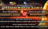 Event Spinomenal Flash Win Of Kings