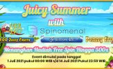 Juicy Summer With Spinomenal Free Spin 500X